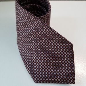 Christian Dior mens silk tie